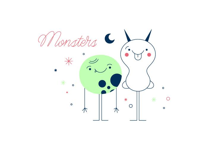 Free Monsters Vector