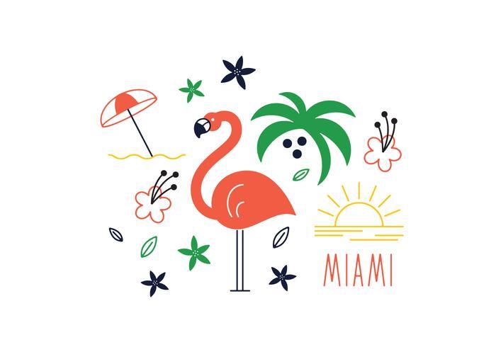 Free Miami Vector