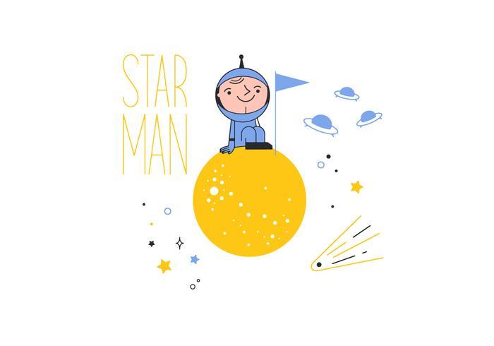 Starman Vector gratuito