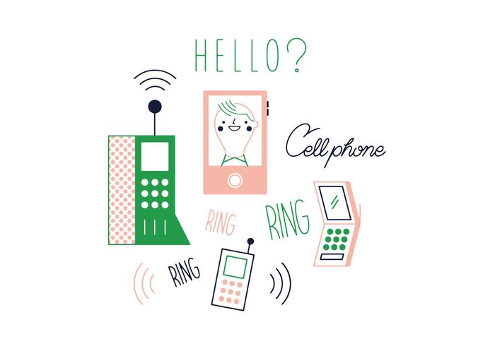 Free Cell Phone Vector