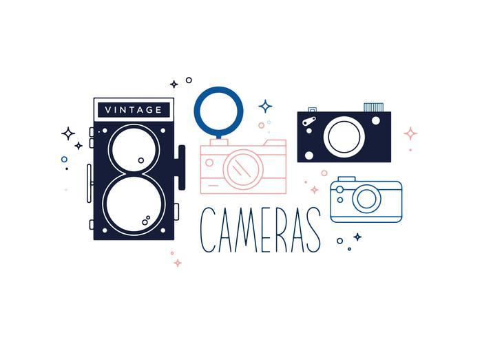 Vecteur caméra gratuit
