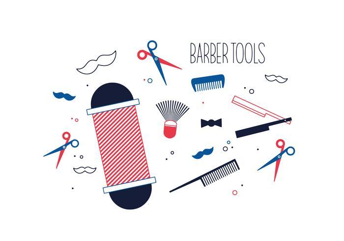 Free Barber Tools Vector