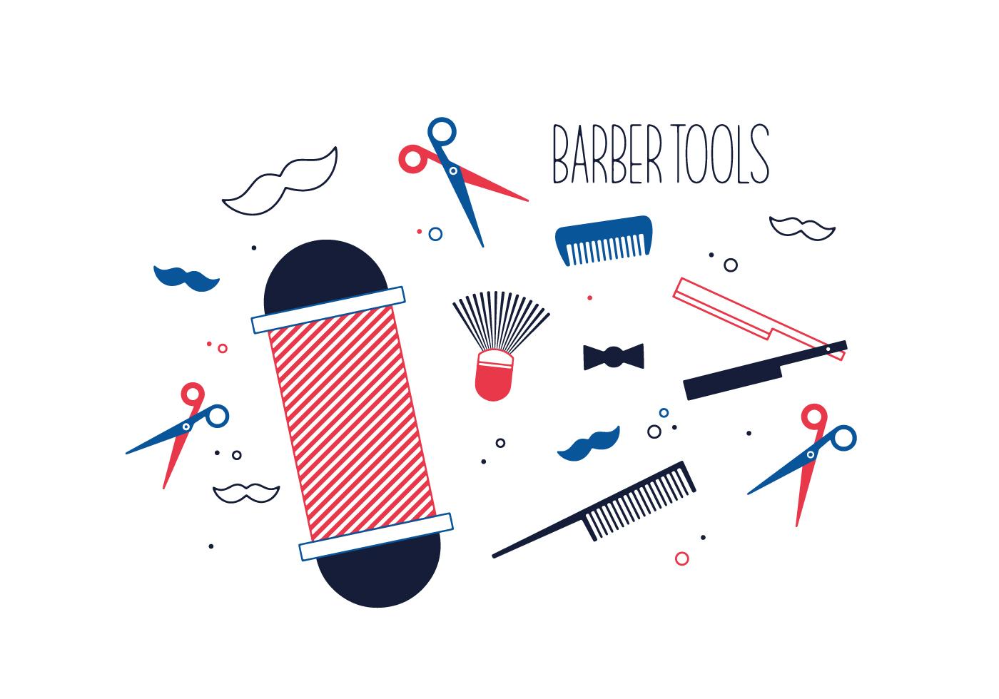 Free Barber Tools Vector Download Free Vectors Clipart