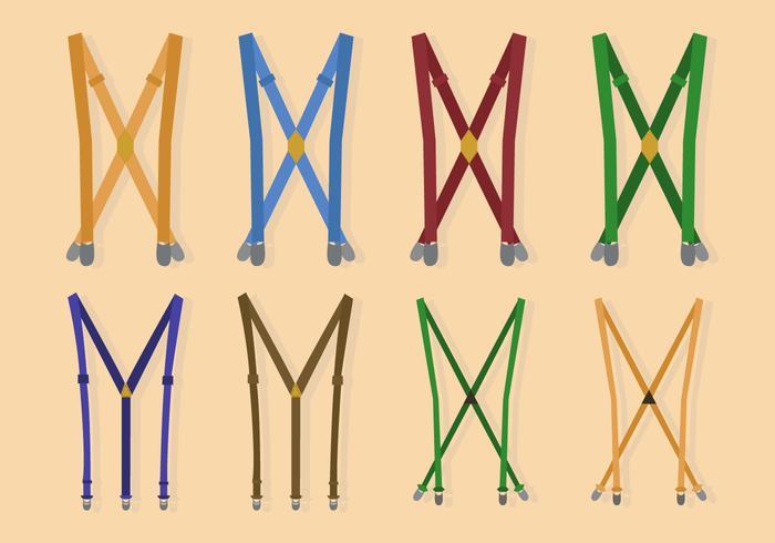 Free Suspender Vector