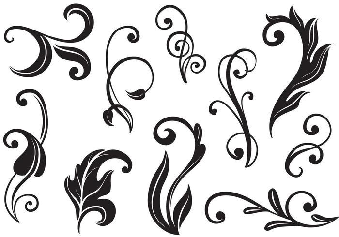 free vector clipart flourishes - photo #17