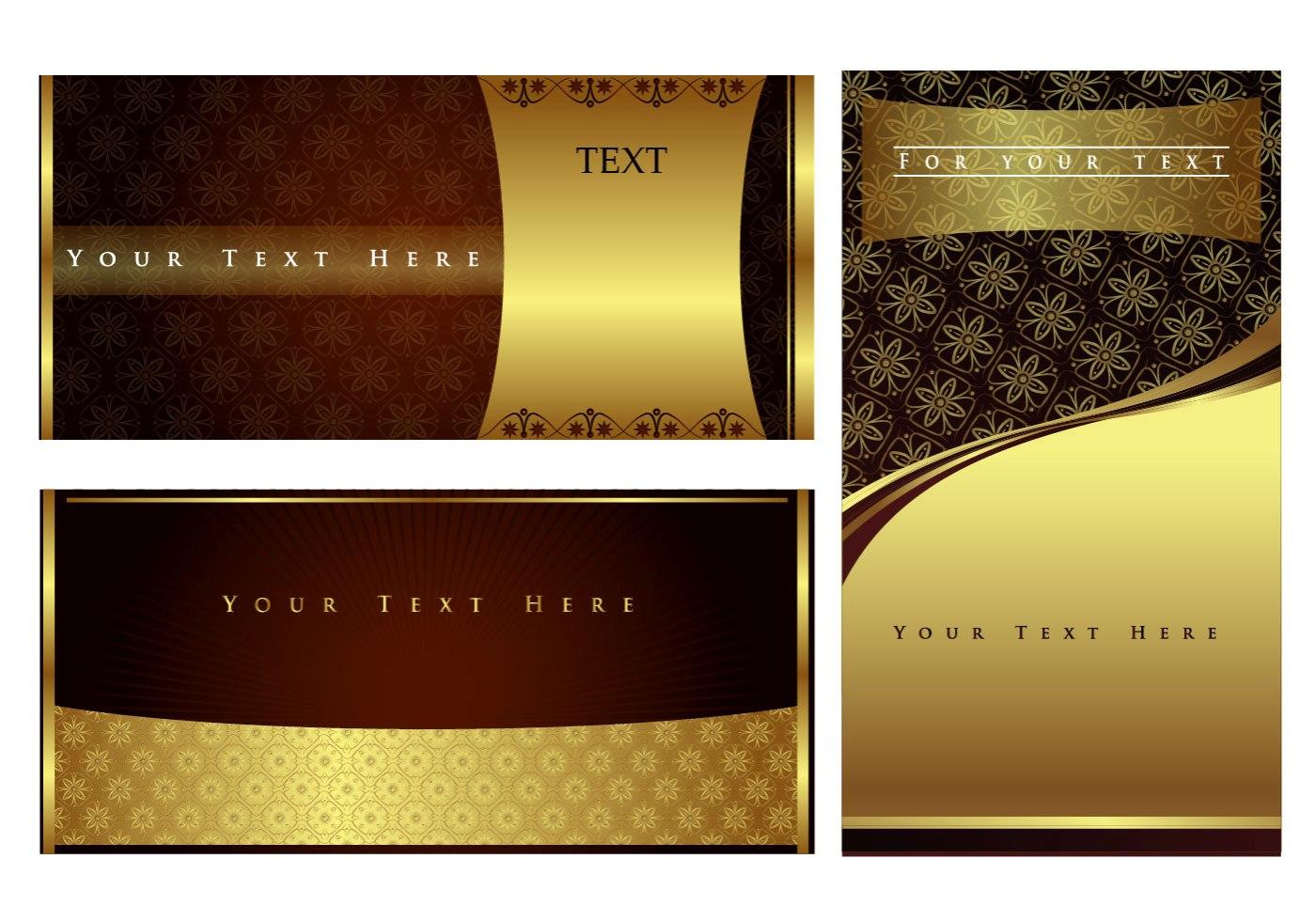 invitation with batik background vector