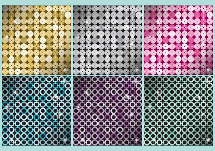 Sequin Pattern Vectors