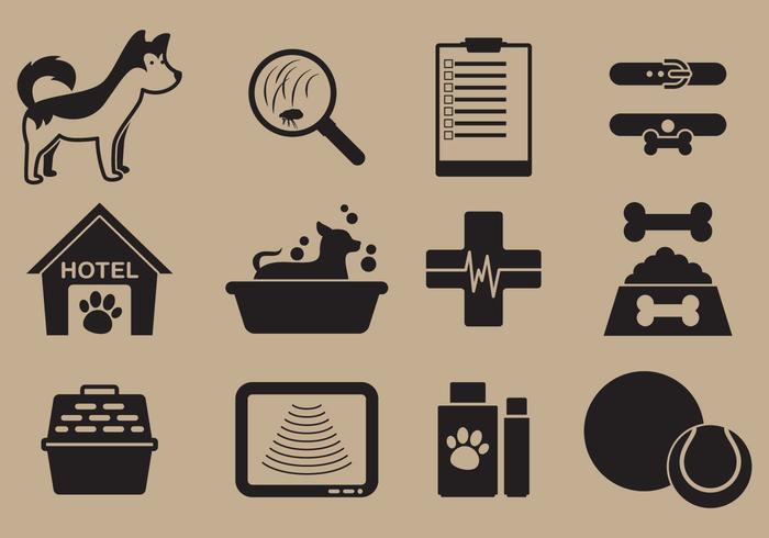 Pet Care Icon Vectors