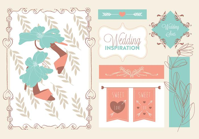 Free Bride Vector Elements