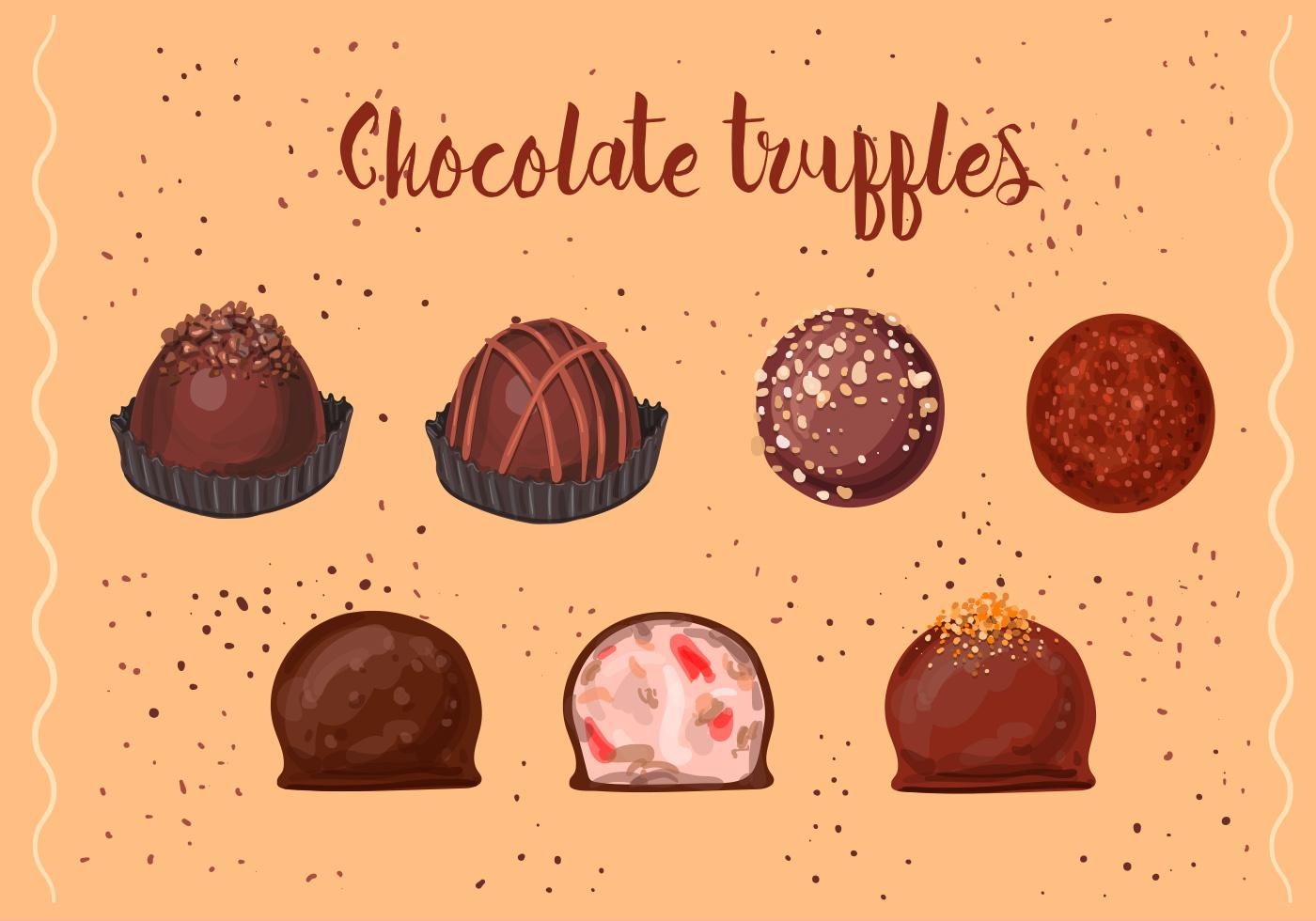 Chocolate Truffles Download Free Vector Art Stock