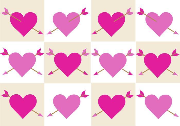 San Valentino gratuito Arrow Vector
