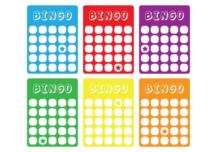 Klassische Bingokarte