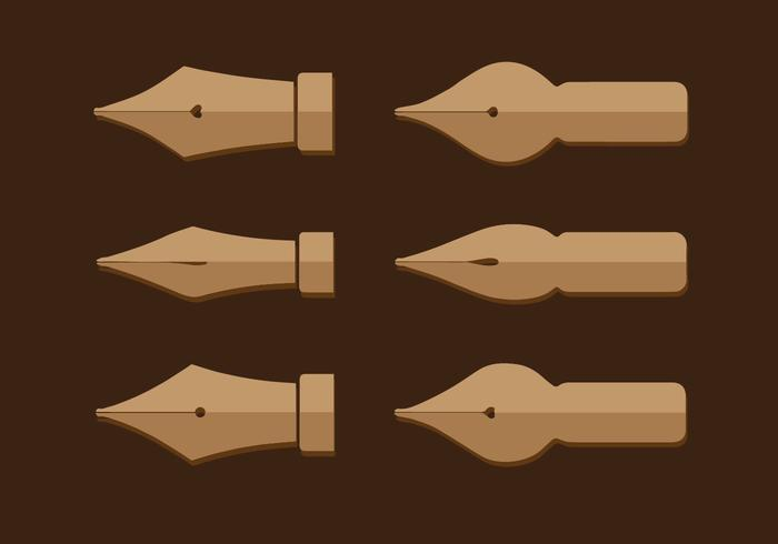 Pen Nib Vector