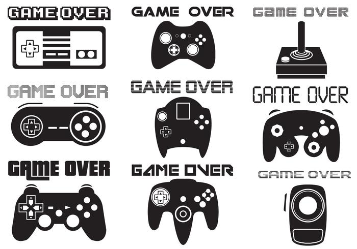 Game Over Vector