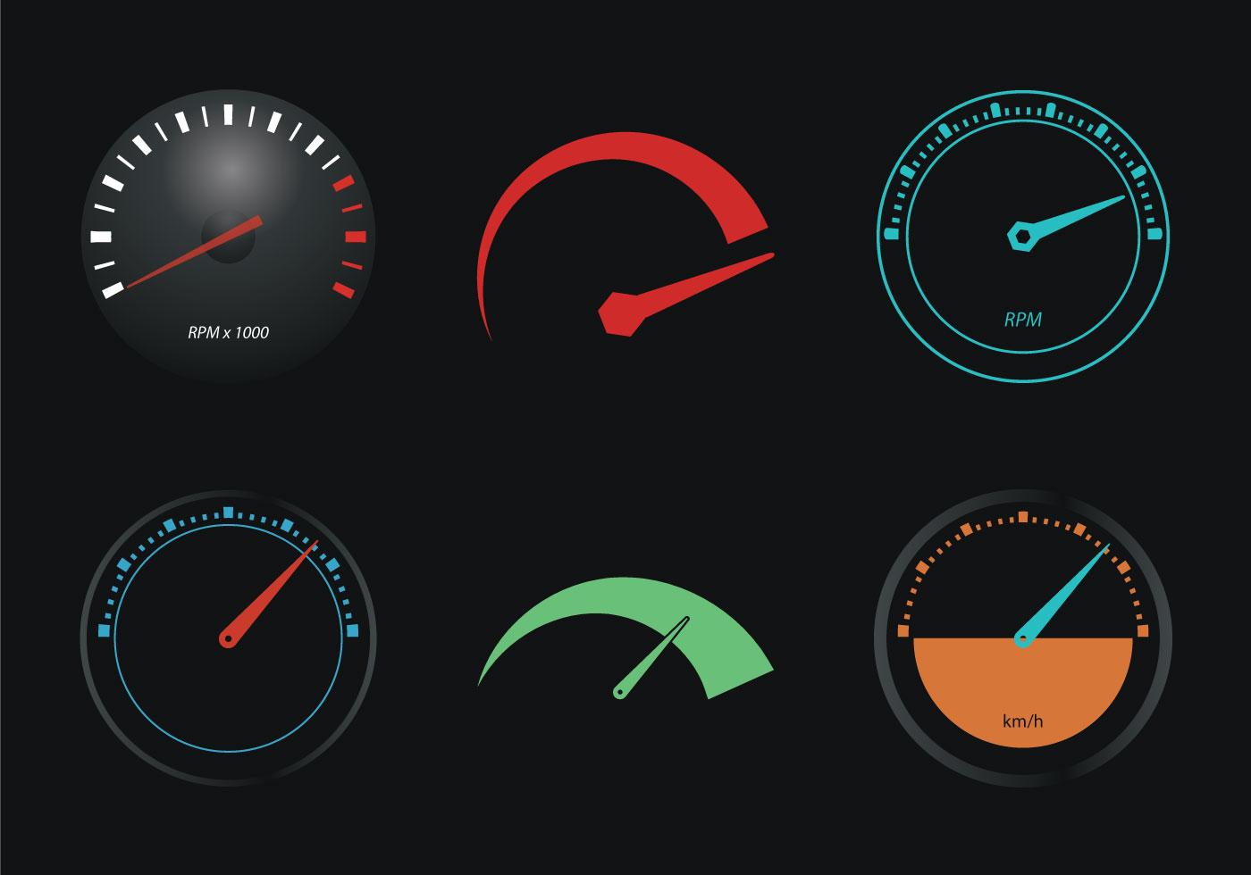 Free Tachometer Vector Illustration - Download Free Vector ... Tachometer Logo