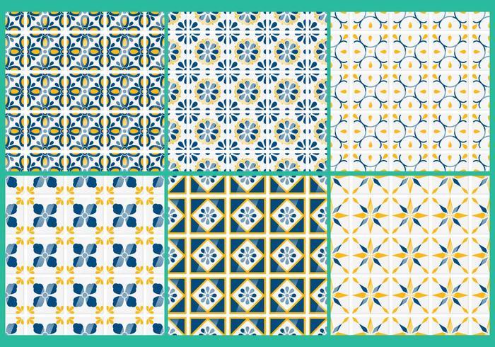 Talavera Vector Patterns