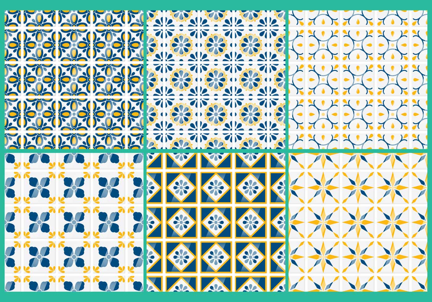Talavera Vector Patterns Download Free Vector Art Stock