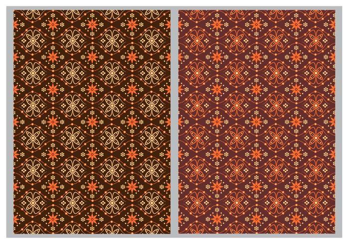 Batik Background Vectors