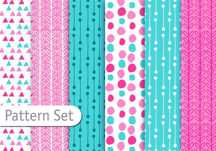 Cute fun decorative pattern set download free vector art stock cute fun decorative pattern set voltagebd Gallery