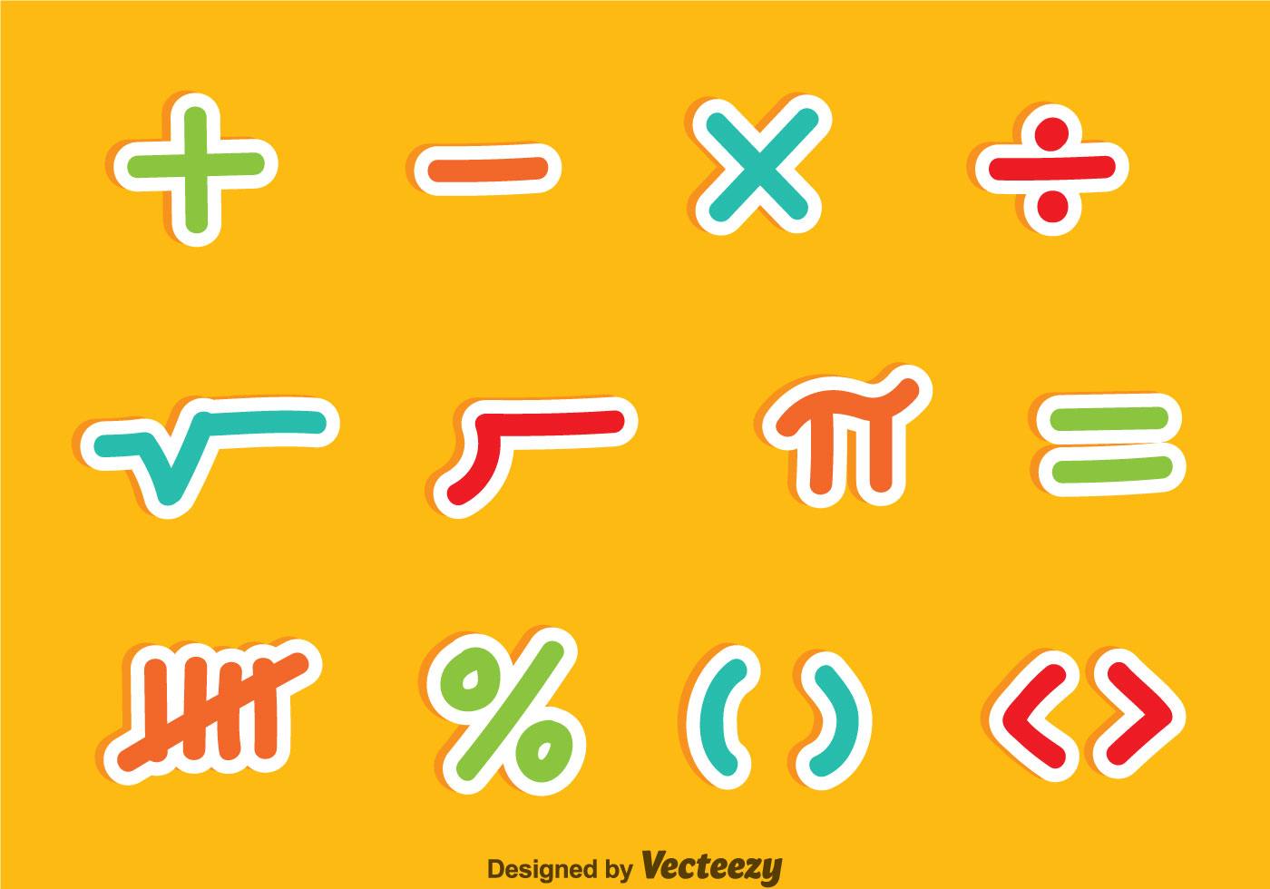 Math symbols colorful vector sets download free vector art math symbols colorful vector sets download free vector art stock graphics images biocorpaavc Image collections