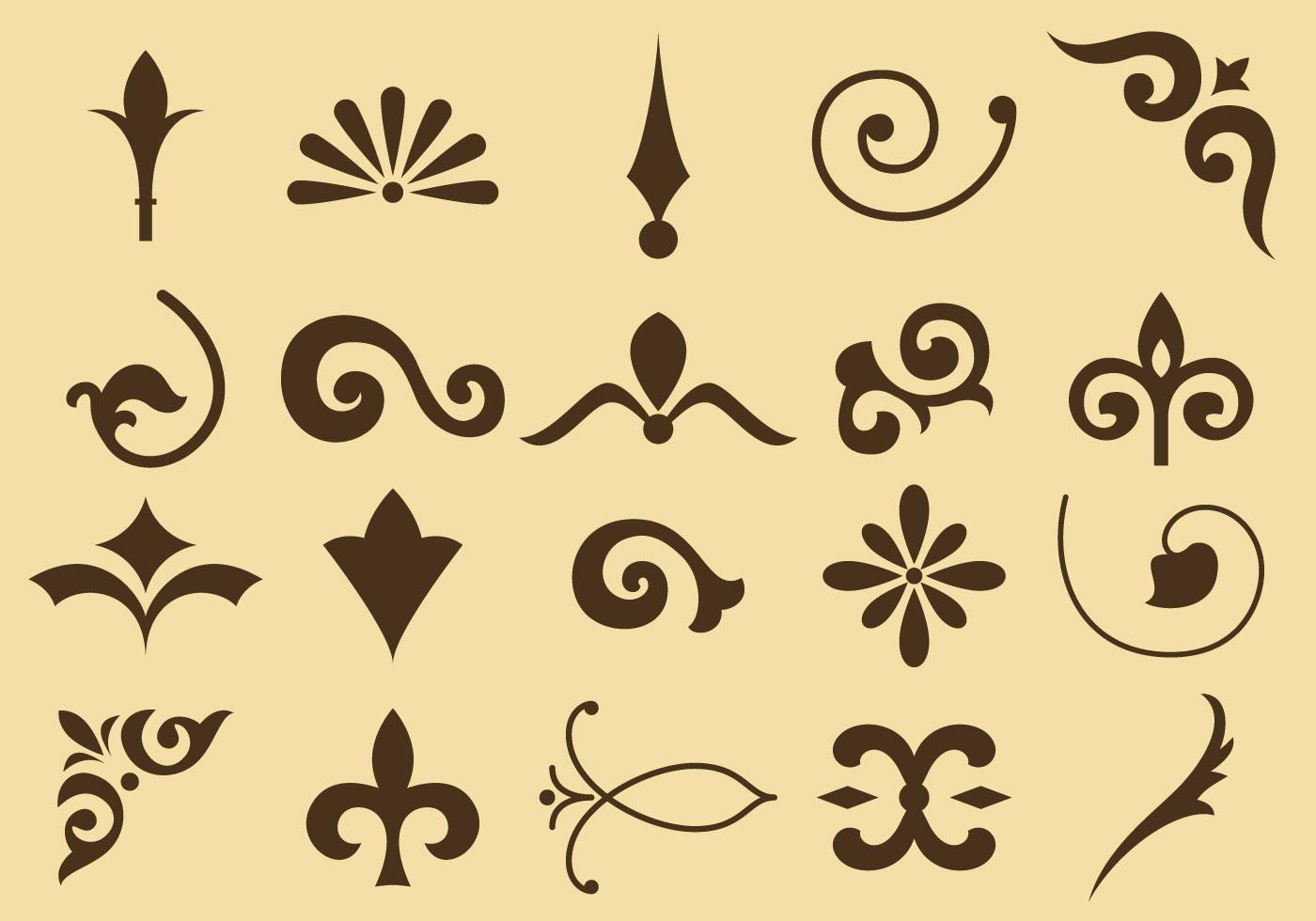 Flourish Vector Icons - Download Free Vector Art, Stock Graphics ...