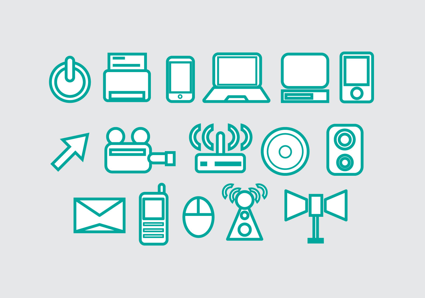 Free Technology Vector Icon #2 - Download Free Vector Art ...