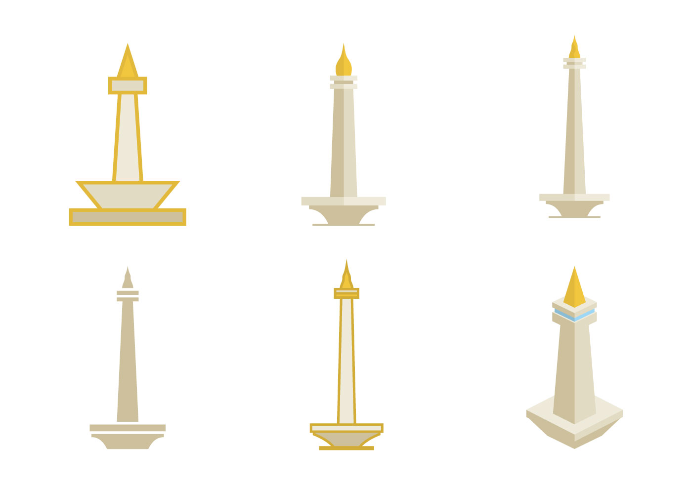 Monas Illustration Vector - Download Free Vector Art ...