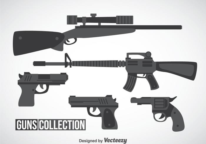 Guns Collection Vector