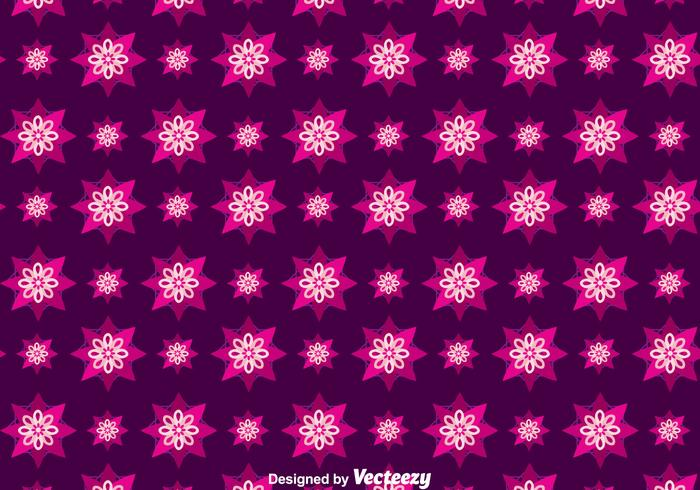 Purple Batik Background Vector