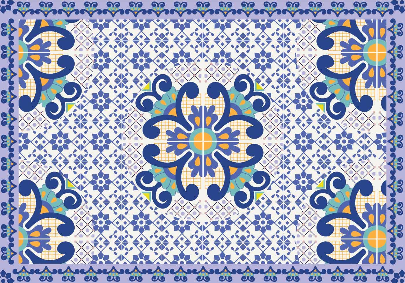 Talavera Pattern Vector Download Free Vector Art Stock