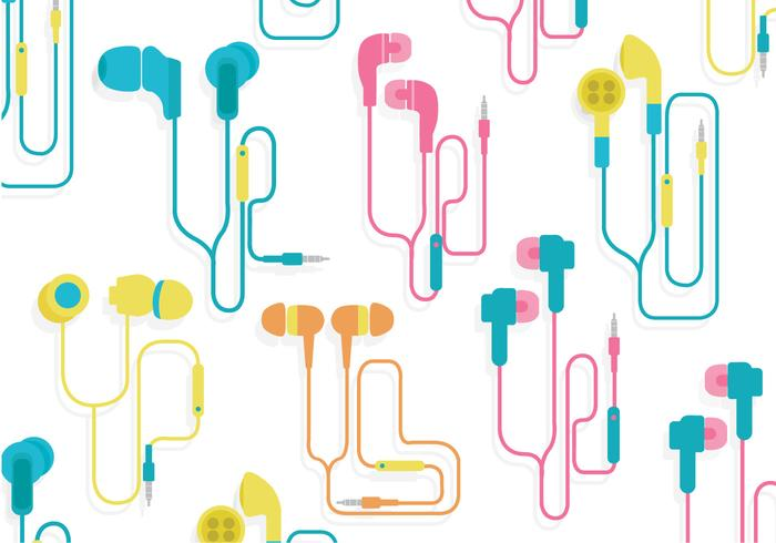 Ear Buds Vector