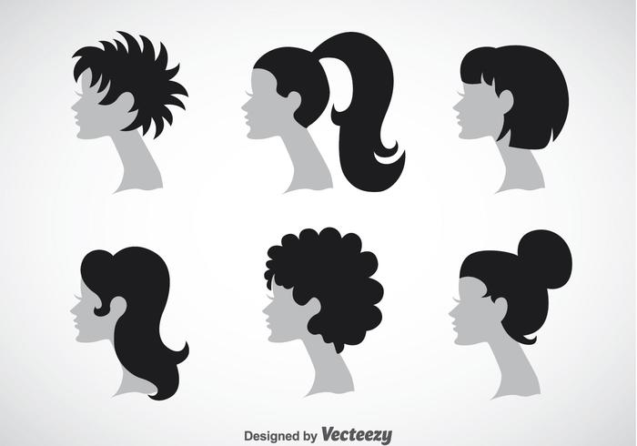 Woman Hairstyles Collection Sets