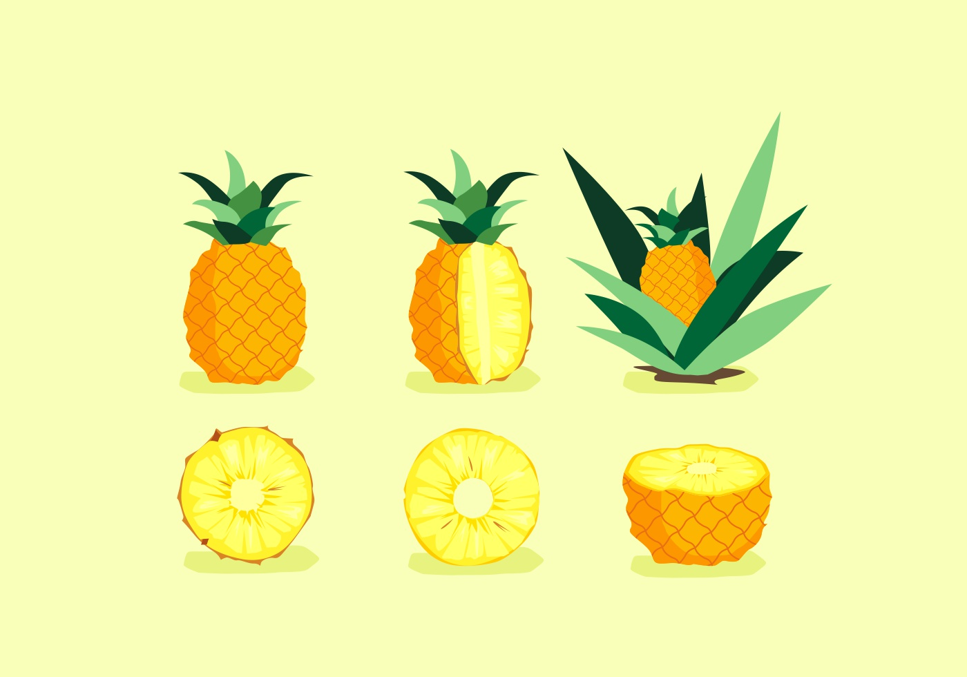 Pineapple Free Vector Art - (5176 Free Downloads)