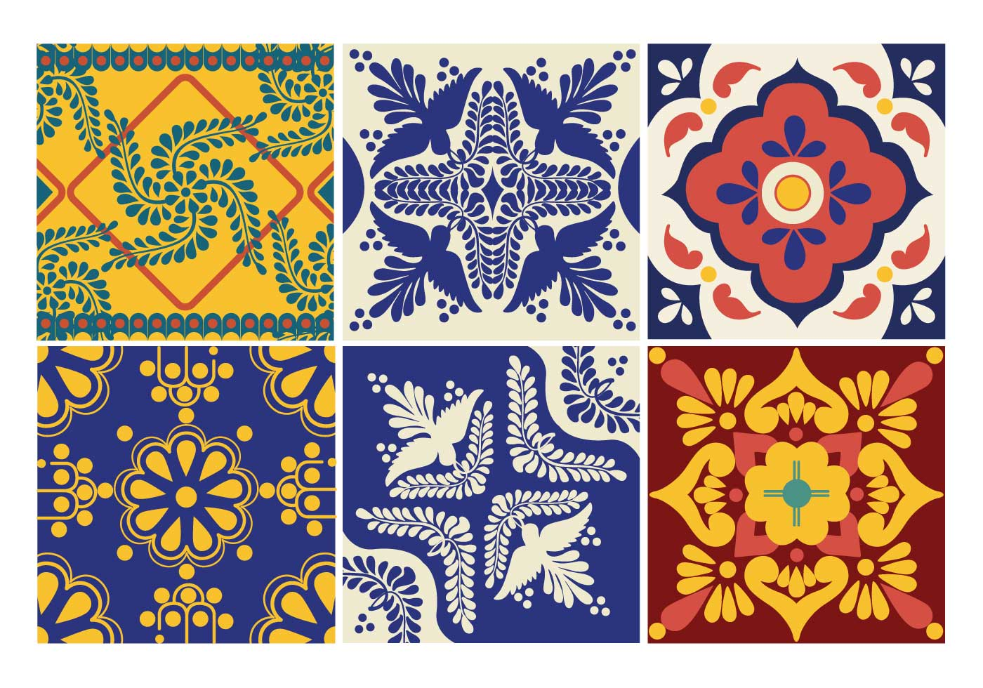 Talavera Free Vector Art 1124 Free Downloads