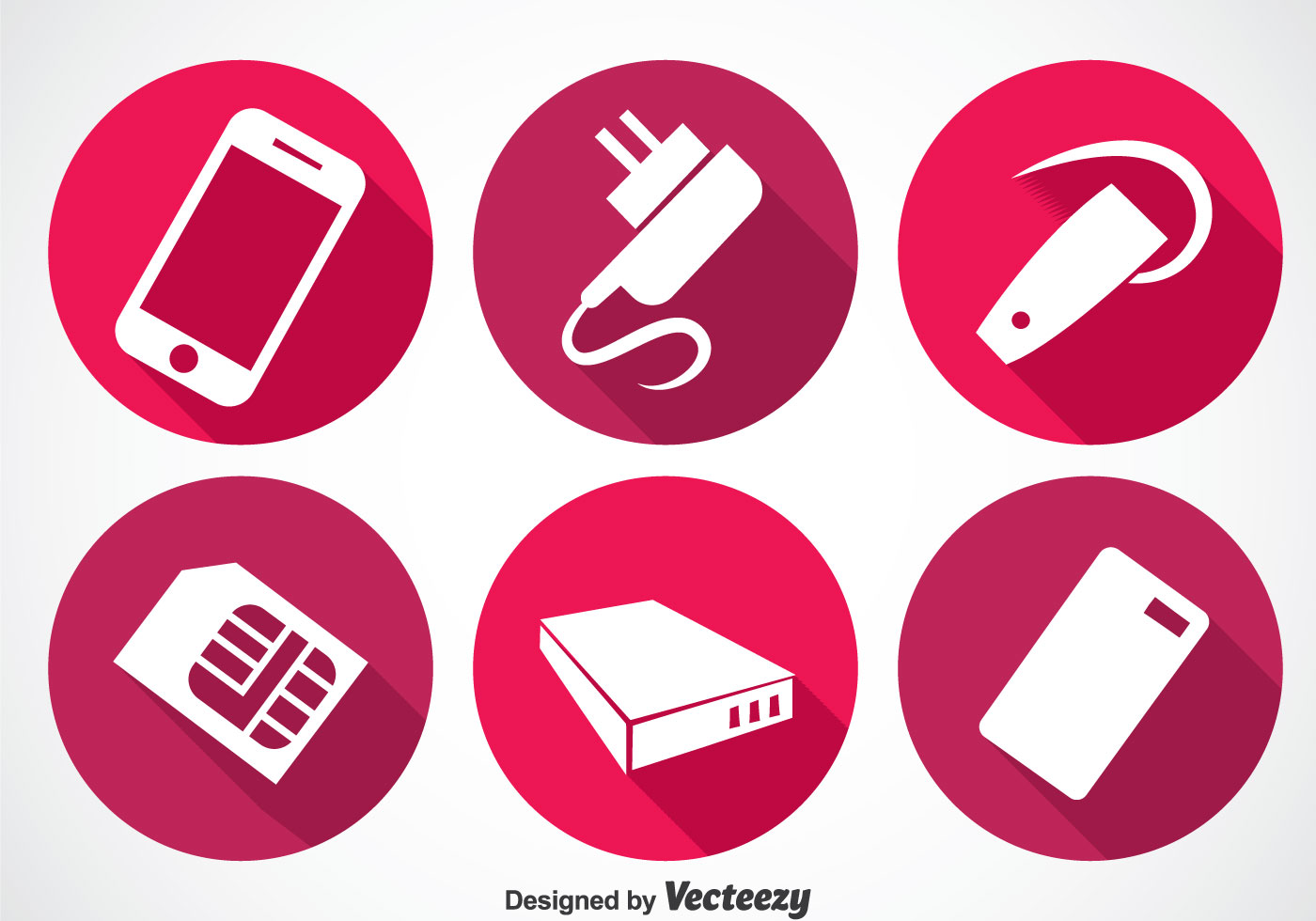 phone accessories long shadow icon vectors download free headphone vector free headphone vector file