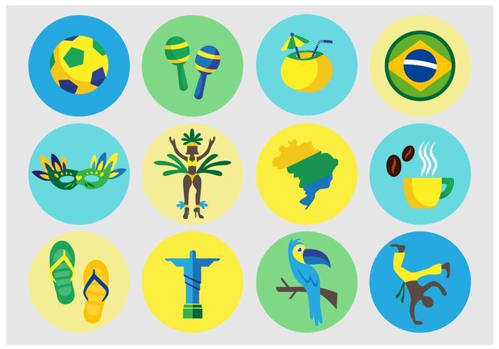 Brazilian Vector Icons