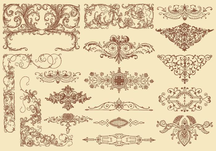 Flourish Design Element Vectors