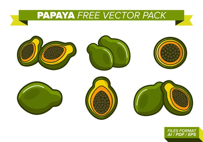 Papaya Free Vector Pack