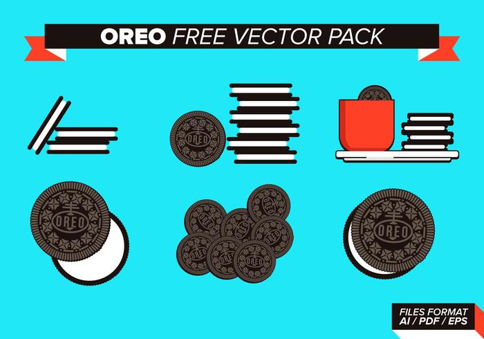 Oreo Free Vector Pack - Download Free Vector Art, Stock Graphics ...