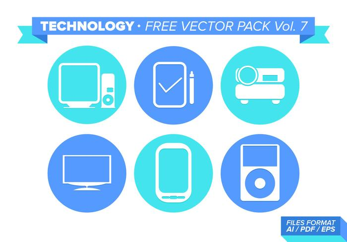 Technology Free Vector Pack Vol. 7