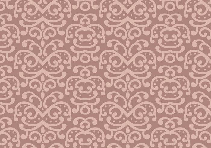 Pastelblad Patroon Achtergrond Vector