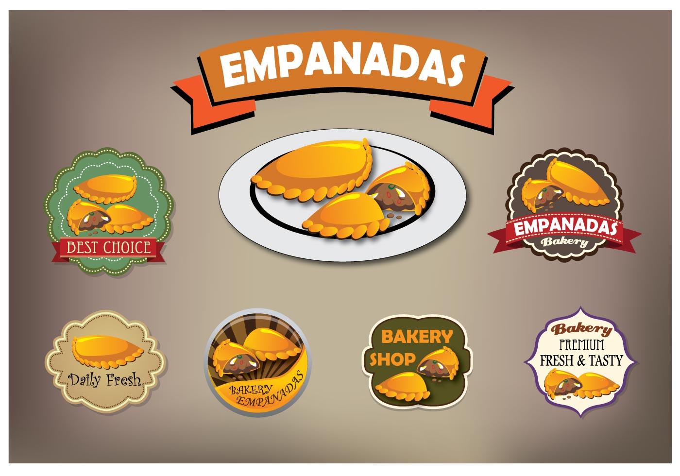 Empanadas Vector Download Free Vector Art Stock Graphics Amp Images