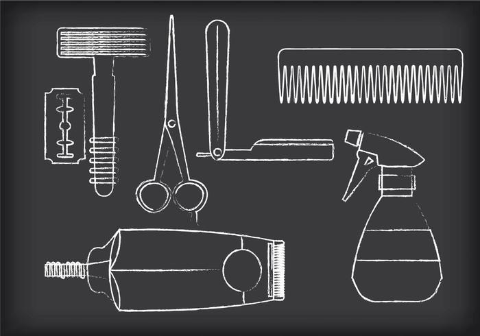 Barber Tools Vectors