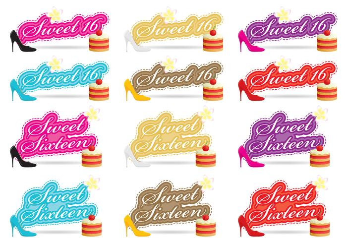 Sweet Sixteen Vectors