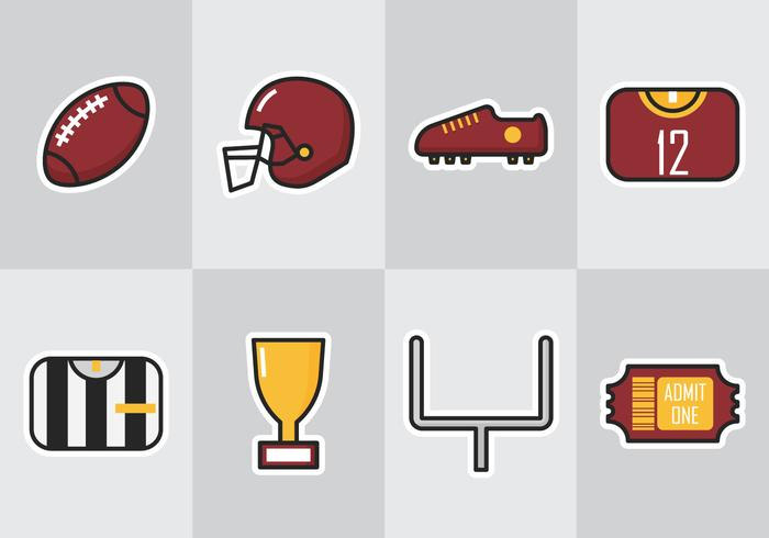 American Football Icon Download Free Vectors Clipart