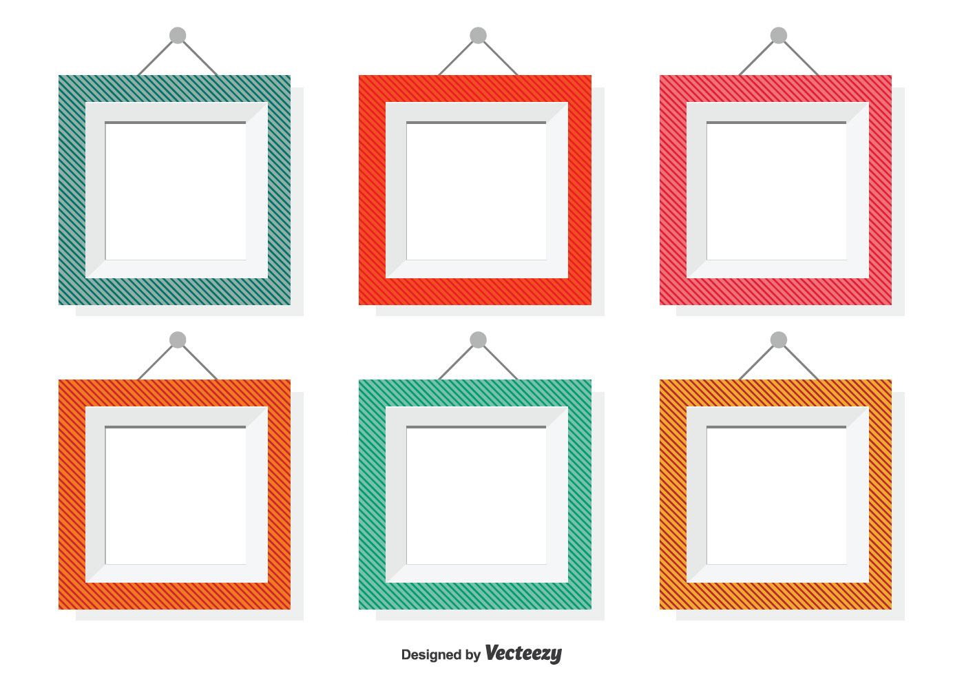 Assorted Color Vector Frames - Download Free Vector Art ...