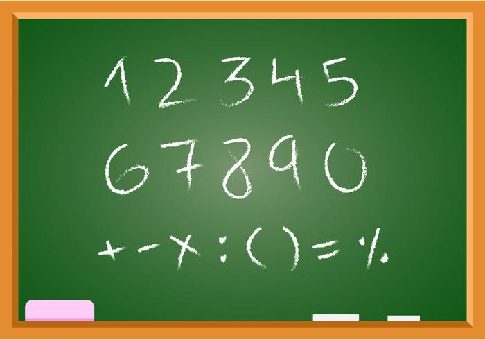 Free Hand Drawn Math Vector