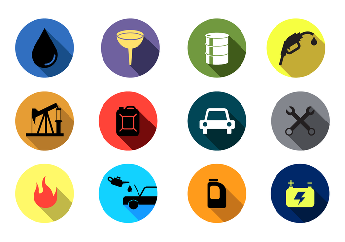 Gratis Oil Change Vector Icon