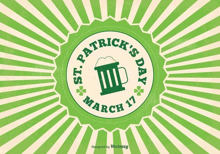 St Patrick's Day Vector Illustration