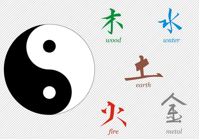 Free Tai Chi Signs Vector